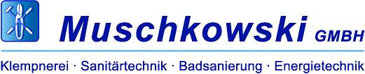 Logo: Muschkowski GmbH - Klempnerei Sanitärtechnik Badsanierung Energietechnik