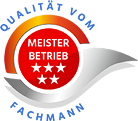 Siegel: Meisterbetrieb - Qualität vom Fachmann