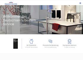 Screenshot von www.paulsengruppe.de