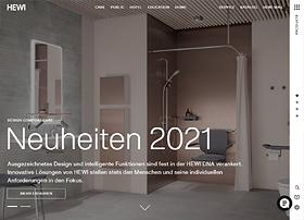 Screenshot von www.hewi.de