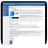 Pressewebscreen Pressemitteilung WS Muschkowski GmbH